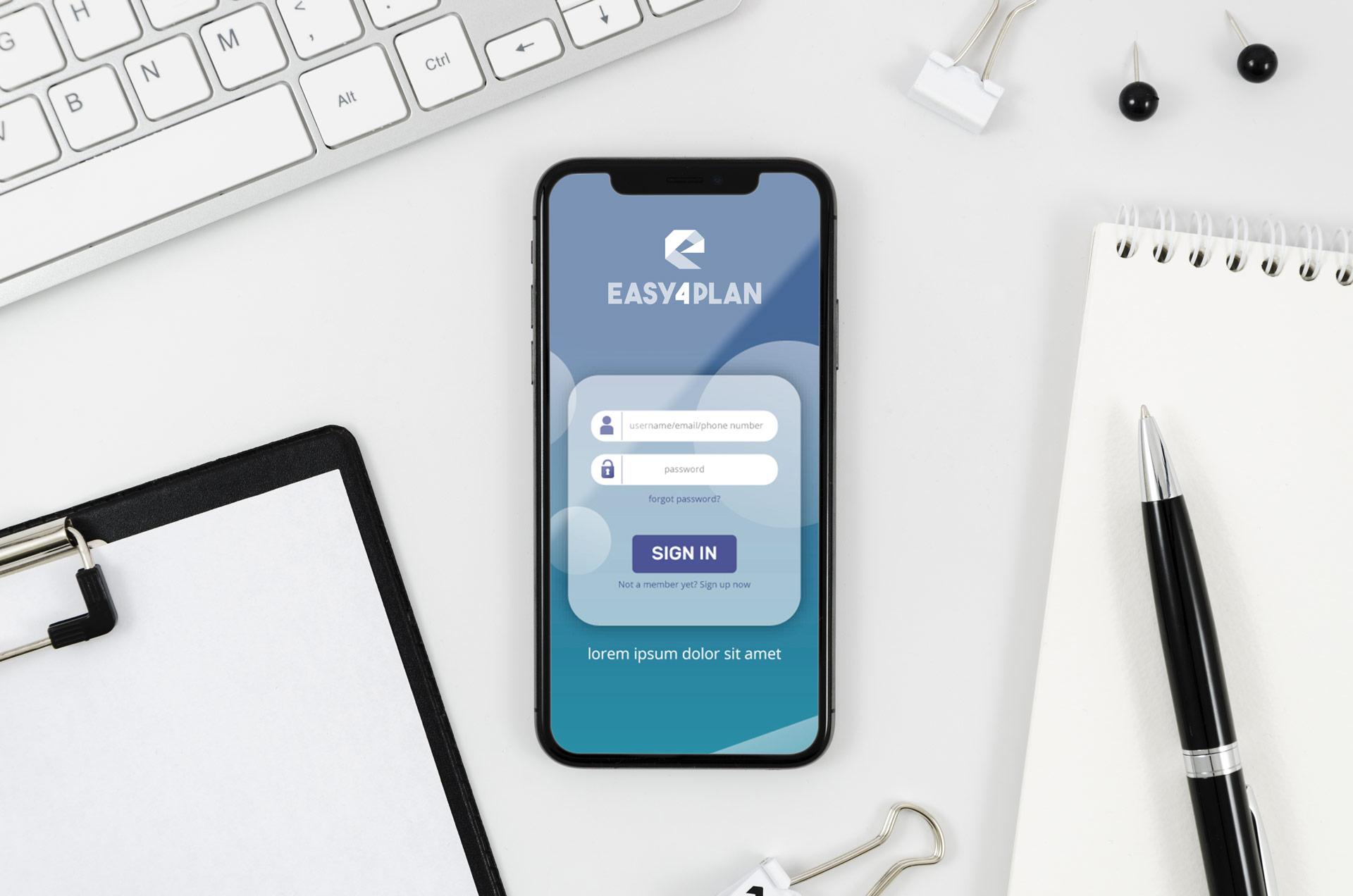 easy 4 plan - la tua app per gestire le commesse